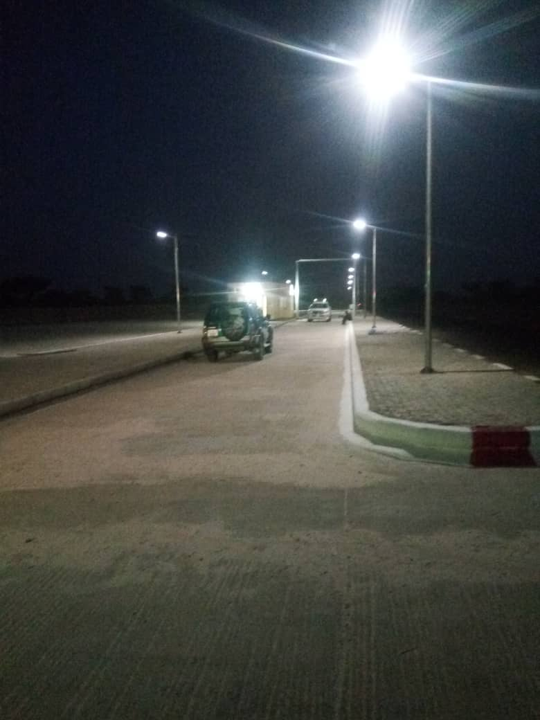 NER40W solar street light in Nigel