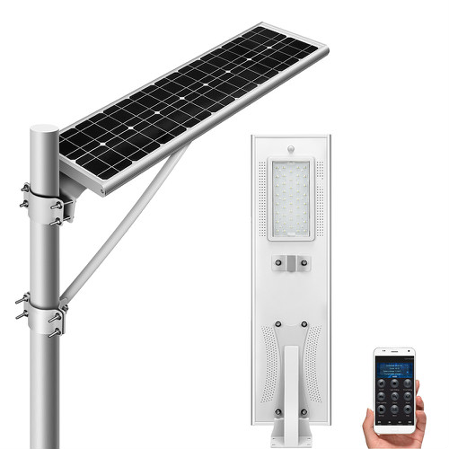 NSP30W-APP all in one solar street light