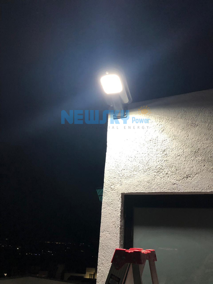 SSL-12W Solar Motion Sensor Light In Mexico