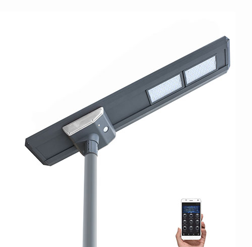 NH-80W all in one solar street light