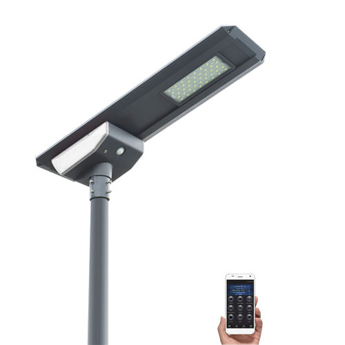 NH-30W all in one solar street light