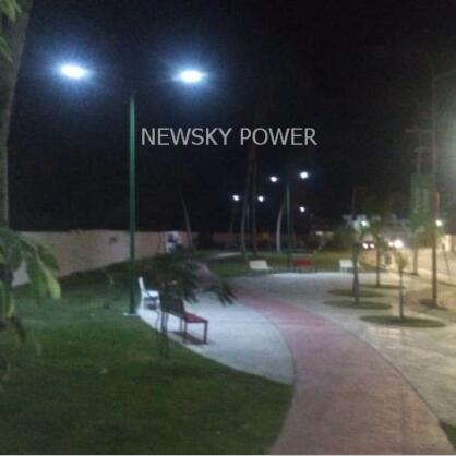 6m mounted In Mexico All In One JD solar street light with good price