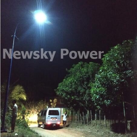 Good Work of JD solar street light 150w