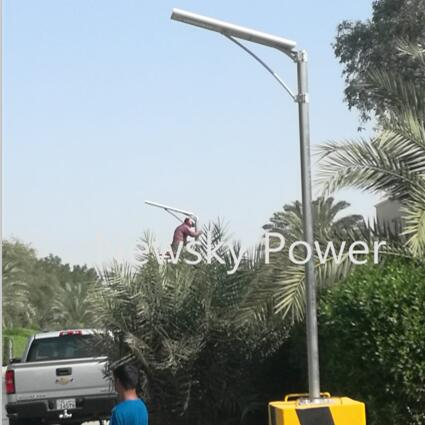 High Brightness 40W All In One Outdoor Solar Street Lighting