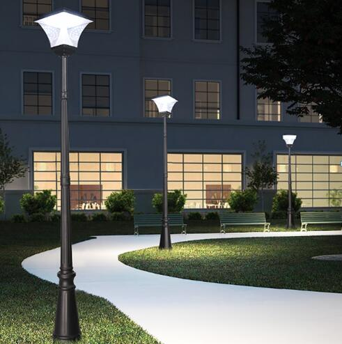[Small size] SCL-100 solar courtyard light with aluminum pole